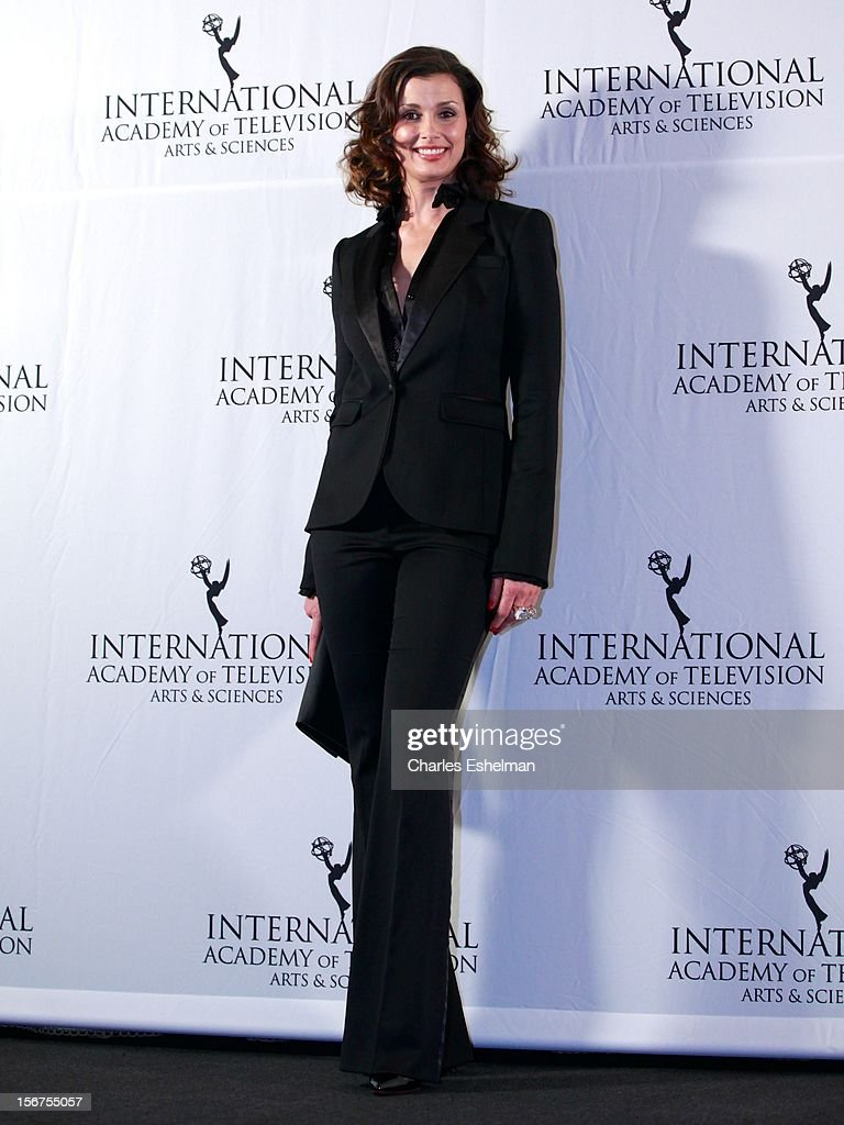 Actress Bridget Moynahan attends the 40th International Emmy Awards at Mercury Ballroom at the New York Hilton on November 19, 2012 in New York City.