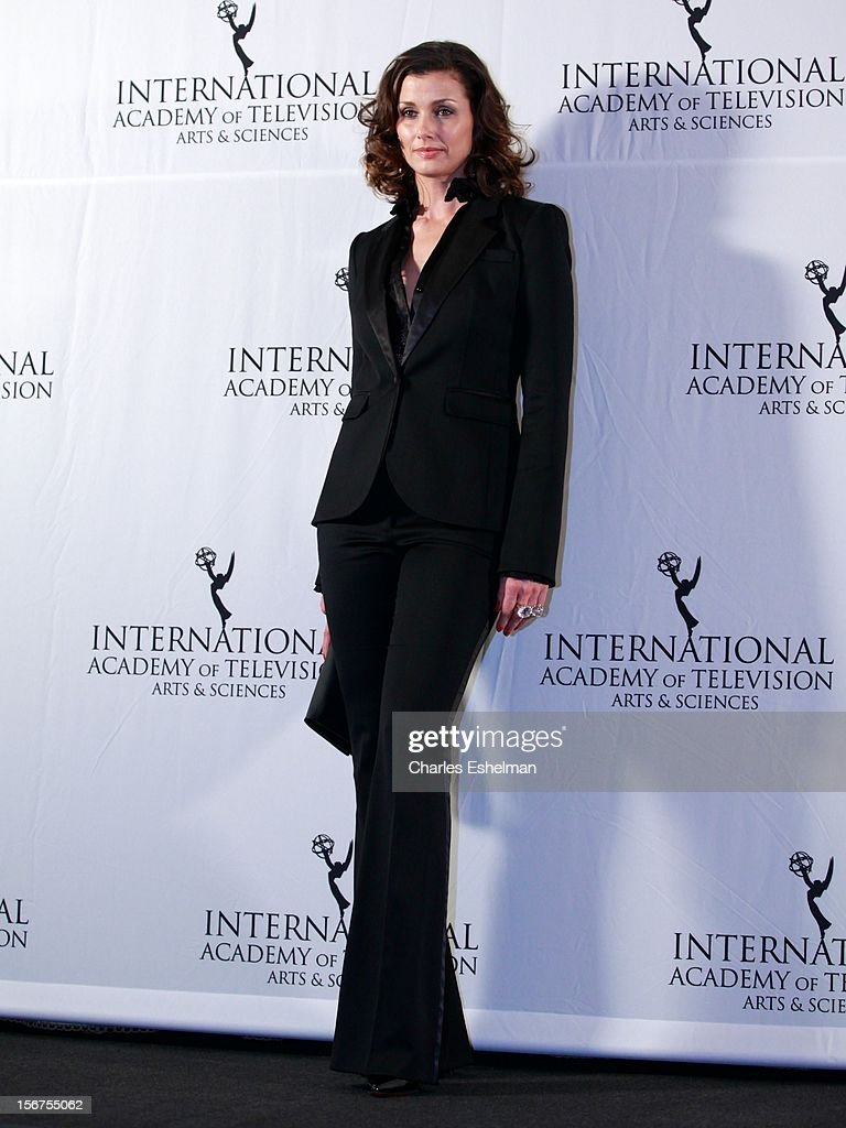 Actress Bridget Moynahan attends the 40th International Emmy Awards at Mercury Ballroom at the New York Hilton on November 19, 2012 in New York City.