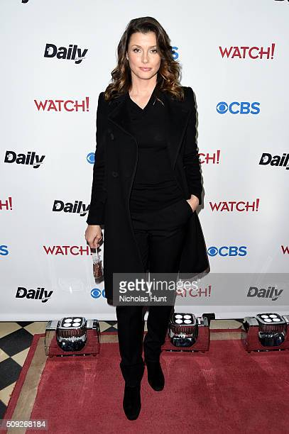 Actress Bridget Moynahan attends The Daily Front Row's celebration of the 10th Anniversary of CBS Watch Magazine at the Gramercy Terrace at The...