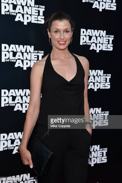 Actress Bridget Moynahan attends the 'Dawn Of The Planets Of The Apes' premiere at Williamsburg Cinemas on July 8 2014 in New York City