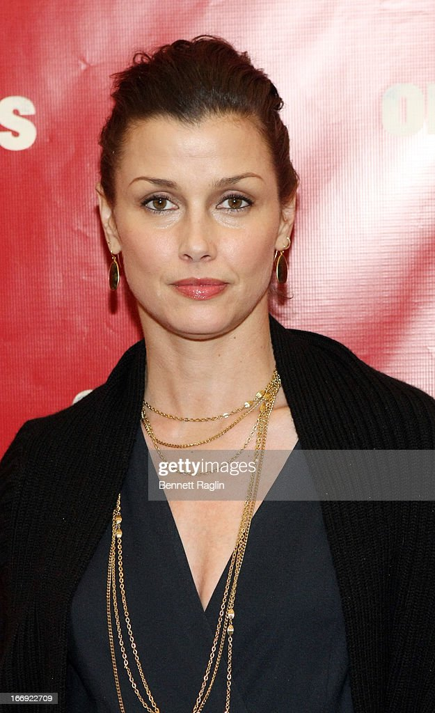 Actress Bridget Moynahan attends the 'Orphans' Broadway Opening Night at the Gerald Schoenfeld Theatre on April 18, 2013 in New York City.