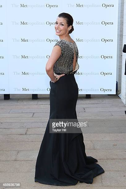 Actress Bridget Moynahan attends the season opening of 'The Marriage of Figaro' at The Metropolitan Opera House on September 22 2014 in New York City