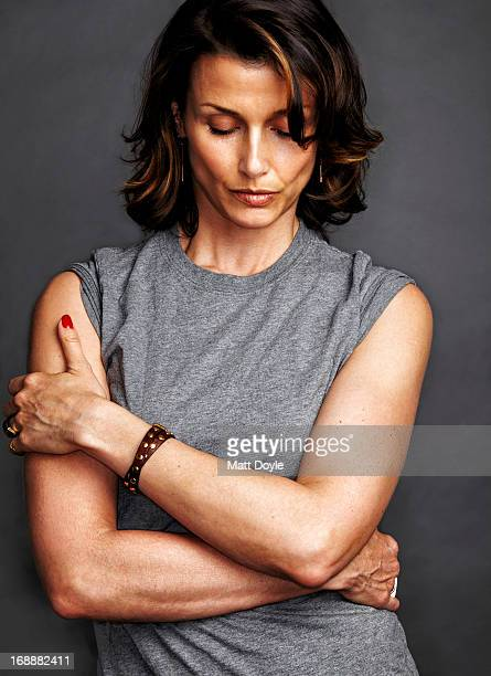 Actress Bridget Moynahan is photographed for Self Assignment on April 17 2012 in New York City