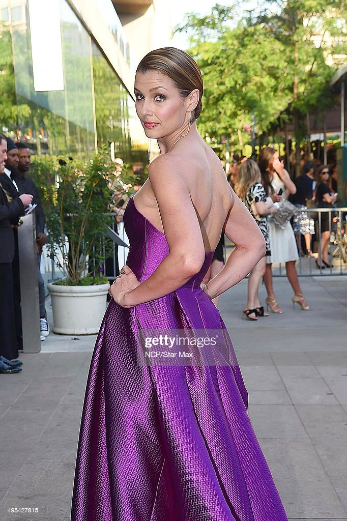 Actress Bridget Moynahan is seen on June 2, 2014 arriving at The 2014 CFDA Fashion Awards in New York City.