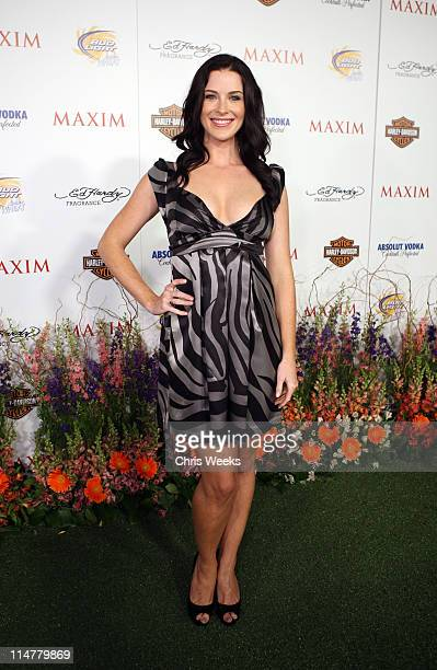 Actress Bridget Regan arrives at the 11th annual Maxim Hot 100 Party with HarleyDavidson ABSOLUT VODKA Ed Hardy Fragrances and ROGAINE held at...