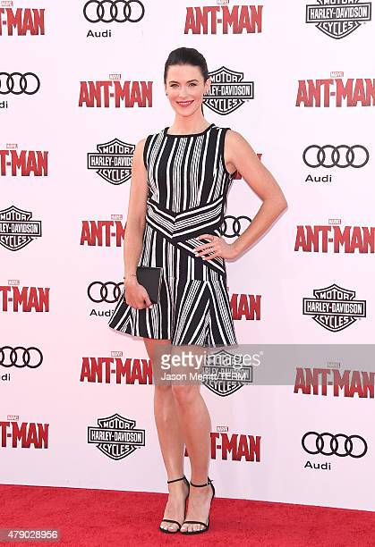 Actress Bridget Regan arrives at the Los Angeles Premiere of Marvel Studios 'AntMan' at Dolby Theatre on June 29 2015 in Hollywood California