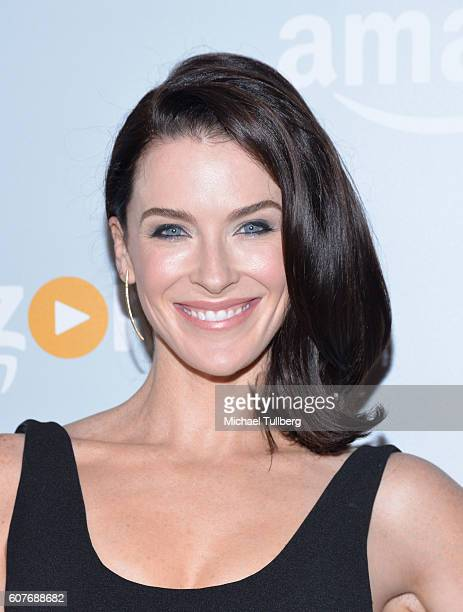 Actress Bridget Regan attends Amazon's Emmy Celebration at Sunset Tower Hotel on September 18 2016 in West Hollywood California
