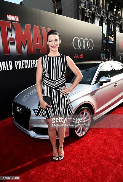 Actress Bridget Regan attends Audi celebrates the world premiere of 'AntMan' at The Dolby Theatre on June 29 2015 in Los Angeles California