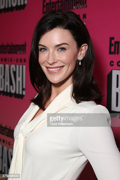 Actress Bridget Regan attends Entertainment Weekly's ComicCon Bash held at Float Hard Rock Hotel San Diego on July 23 2016 in San Diego California...