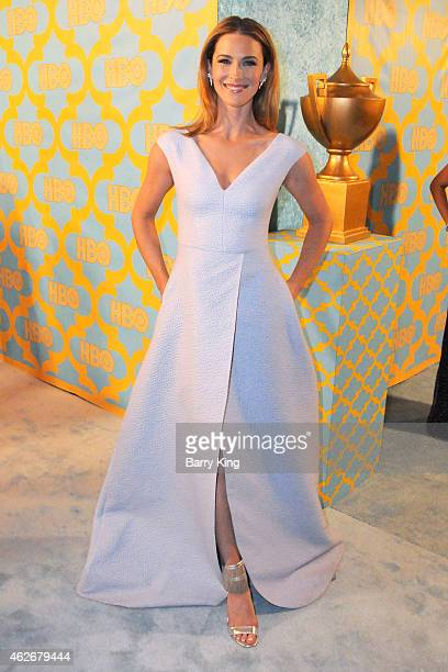 Actress Bridget Regan attends HBO's post Golden Globe Awards party at The Beverly Hilton Hotel on January 11 2015 in Beverly Hills California