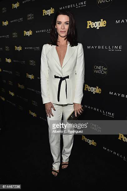 Actress Bridget Regan attends People's 'Ones to Watch' event presented by Maybelline New York at EP LP on October 13 2016 in Hollywood California