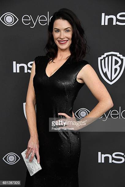 Actress Bridget Regan attends the 18th Annual PostGolden Globes Party hosted by Warner Bros Pictures and InStyle at The Beverly Hilton Hotel on...