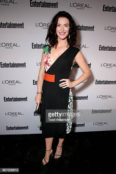 Actress Bridget Regan attends the 2016 Entertainment Weekly PreEmmy party at Nightingale Plaza on September 16 2016 in Los Angeles California