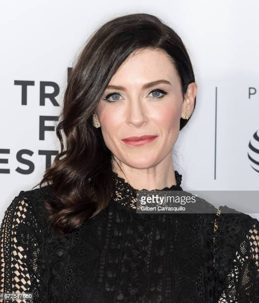 Actress Bridget Regan attends the 'Devil's Gate' premiere during the 2017 Tribeca Film Festival at Cinepolis Chelsea on April 24 2017 in New York City
