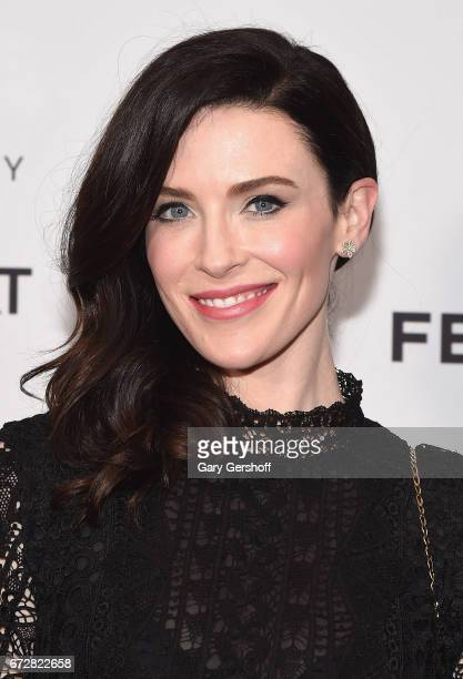Actress Bridget Regan attends the 'Devil's Gate' screening during the 2017 Tribeca Film Festival at Cinepolis Chelsea on April 24 2017 in New York...