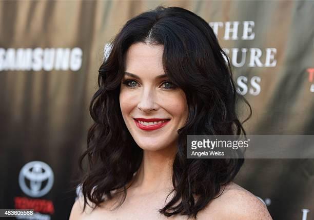 Actress Bridget Regan attends the Project Greenlight Season 4 Winning Film premiere 'The Leisure Class' presented by Matt Damon Ben Affleck Adaptive...