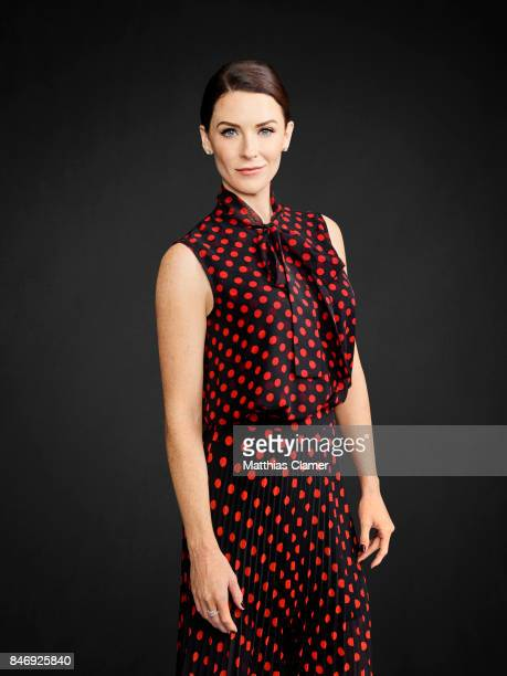 Actress Bridget Regan from 'The Last Ship' is photographed for Entertainment Weekly Magazine on July 21 2016 at Comic Con in the Hard Rock Hotel in...