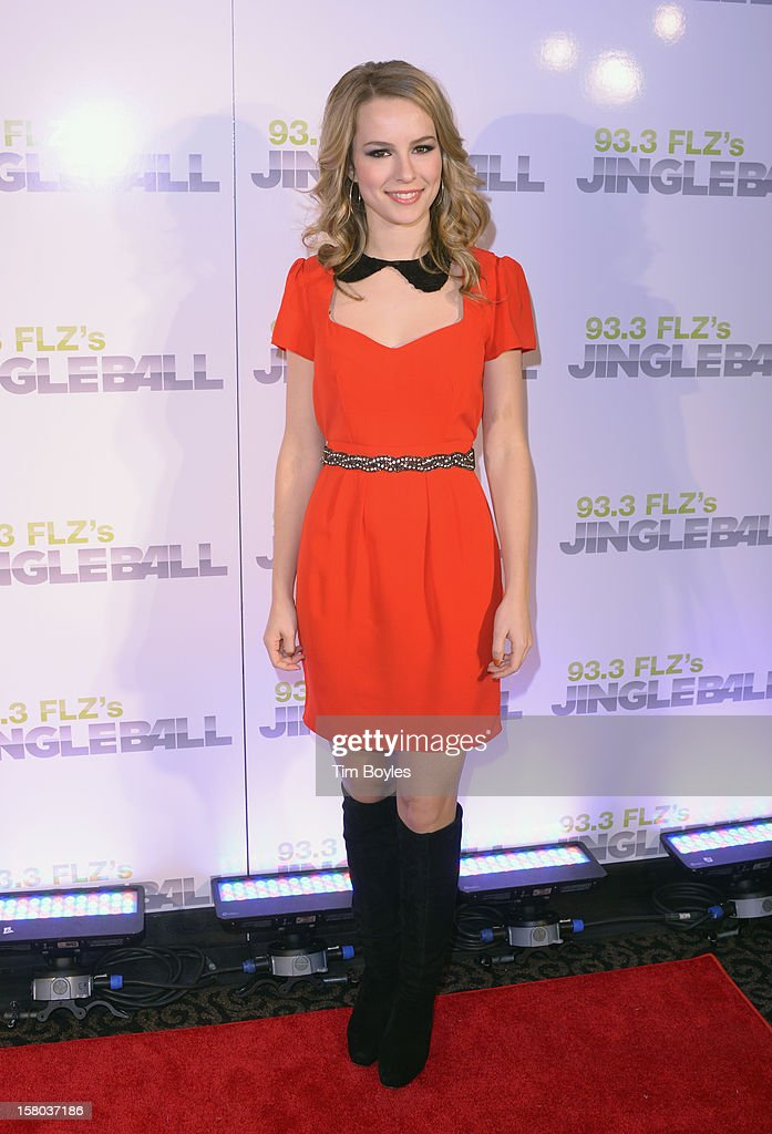 Actress Bridgit Mendler attends 93.3 FLZ's Jingle Ball 2012 at Tampa Bay Times Forum on December 9, 2012 in Tampa, Florida.