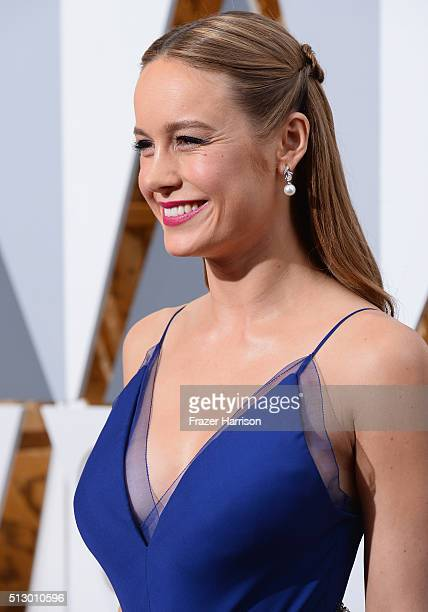 Actress Brie Larsen attends the 88th Annual Academy Awards at Hollywood Highland Center on February 28 2016 in Hollywood California