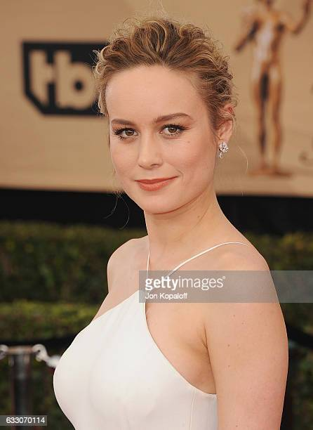 Actress Brie Larson arrives at the 23rd Annual Screen Actors Guild Awards at The Shrine Expo Hall on January 29 2017 in Los Angeles California