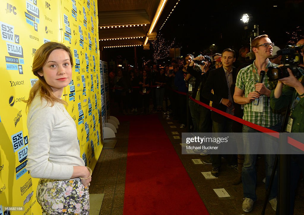 Actress <a gi-track='captionPersonalityLinkClicked' href=/galleries/search?phrase=Brie+Larson&family=editorial&specificpeople=171226 ng-click='$event.stopPropagation()'>Brie Larson</a> arrives to the screening of 'Don Jon's Addiction' during the 2013 SXSW Music, Film + Interactive Festival at the Paramount Theatre on March 11, 2013 in Austin, Texas.
