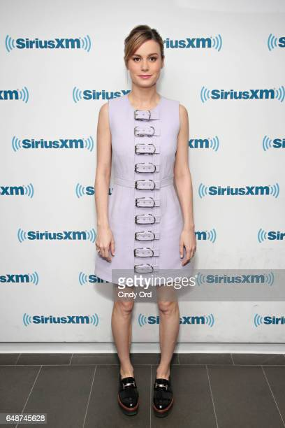 Actress Brie Larson attends SiriusXM's 'Town Hall' with the cast of 'Kong Skull Island' town hall to air on SiriusXM's Entertainment Weekly Radio on...