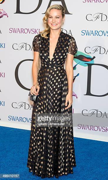 Actress Brie Larson attends the 2014 CFDA fashion awards at Alice Tully Hall Lincoln Center on June 2 2014 in New York City
