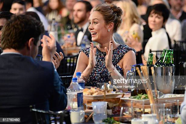 Actress Brie Larson attends the 2016 Film Independent Spirit Awards on February 27 2016 in Santa Monica California