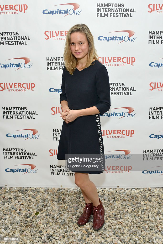 Actress Brie Larson attends the 21st Annual Hamptons International Film Festival on October 12, 2013 in East Hampton, New York.
