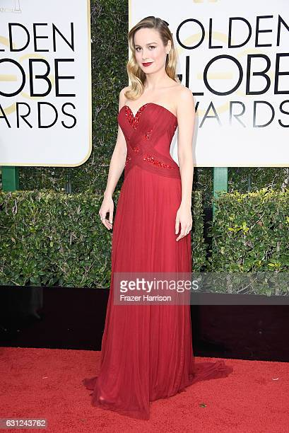 Actress Brie Larson attends the 74th Annual Golden Globe Awards at The Beverly Hilton Hotel on January 8 2017 in Beverly Hills California