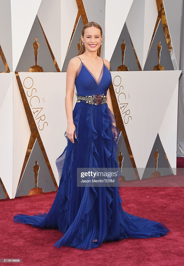Actress Brie Larson attends the 88th Annual Academy Awards at Hollywood Highland Center on February 28 2016 in Hollywood California
