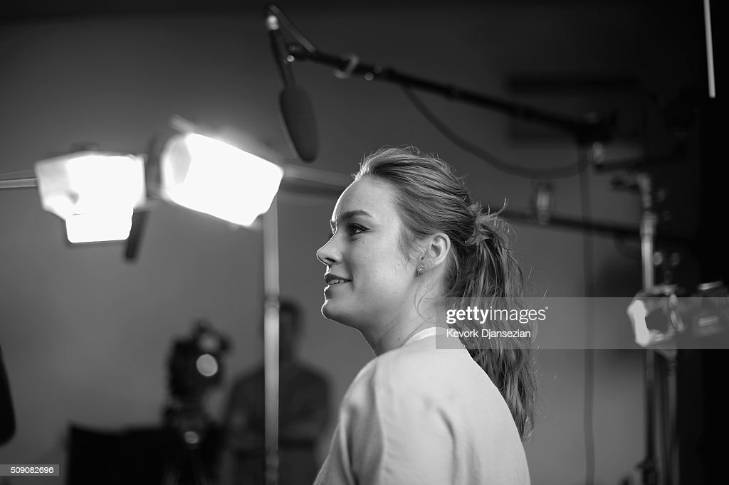 Actress <a gi-track='captionPersonalityLinkClicked' href=/galleries/search?phrase=Brie+Larson&family=editorial&specificpeople=171226 ng-click='$event.stopPropagation()'>Brie Larson</a> attends the 88th Annual Academy Awards nominee luncheon on February 8, 2016 in Beverly Hills, California.