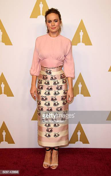 Actress Brie Larson attends the 88th Annual Academy Awards Nominee Luncheon in Beverly Hills California