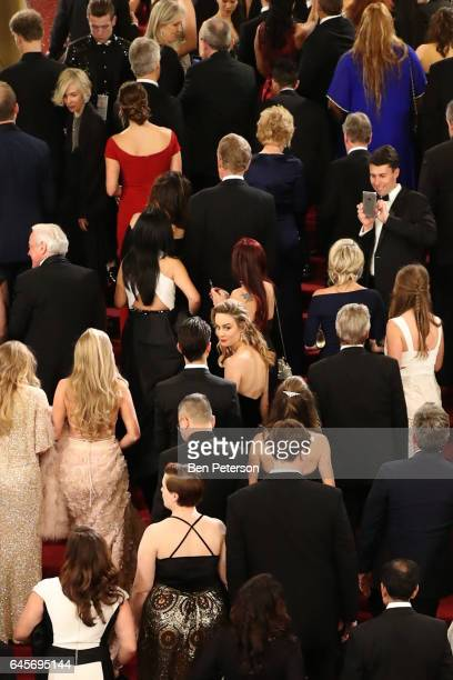 Actress Brie Larson attends the 89th Annual Academy Awards at Hollywood Highland Center on February 26 2017 in Hollywood California