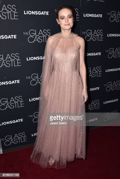 Actress Brie Larson attends 'The Glass Castle' New York Screening at SVA Theatre on August 9 2017 in New York City