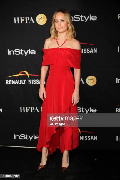 Actress Brie Larson attends The Hollywood Foreign Press Association and InStyle's annual celebrations of the 2017 Toronto International Film Festival...
