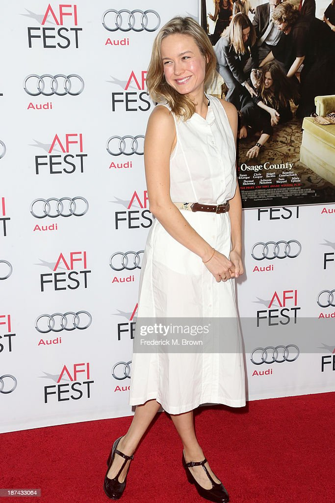 Actress <a gi-track='captionPersonalityLinkClicked' href=/galleries/search?phrase=Brie+Larson&family=editorial&specificpeople=171226 ng-click='$event.stopPropagation()'>Brie Larson</a> attends The Los Angeles Times Young Hollywood Roundtable during AFI FEST 2013 presented by Audi at TCL Chinese Theatre on November 8, 2013 in Hollywood, California.