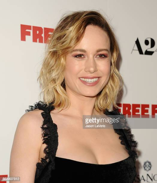 Actress Brie Larson attends the premiere of 'Free Fire' at ArcLight Hollywood on April 13 2017 in Hollywood California