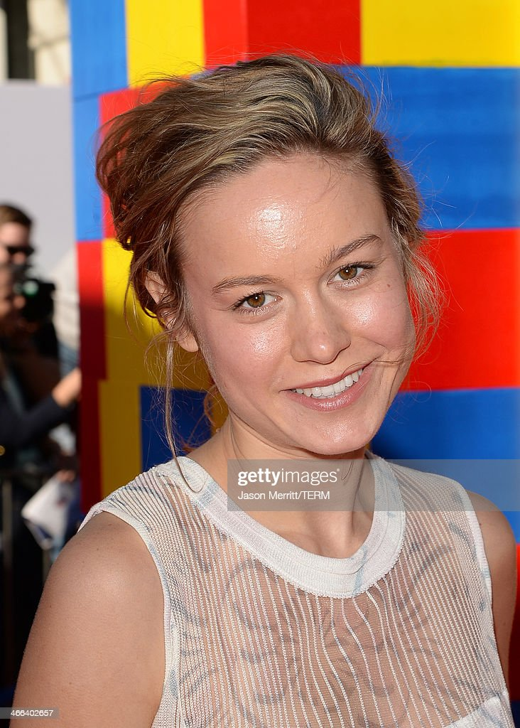 Actress <a gi-track='captionPersonalityLinkClicked' href=/galleries/search?phrase=Brie+Larson&family=editorial&specificpeople=171226 ng-click='$event.stopPropagation()'>Brie Larson</a> attends the premiere of 'The LEGO Movie' at Regency Village Theatre on February 1, 2014 in Westwood, California.