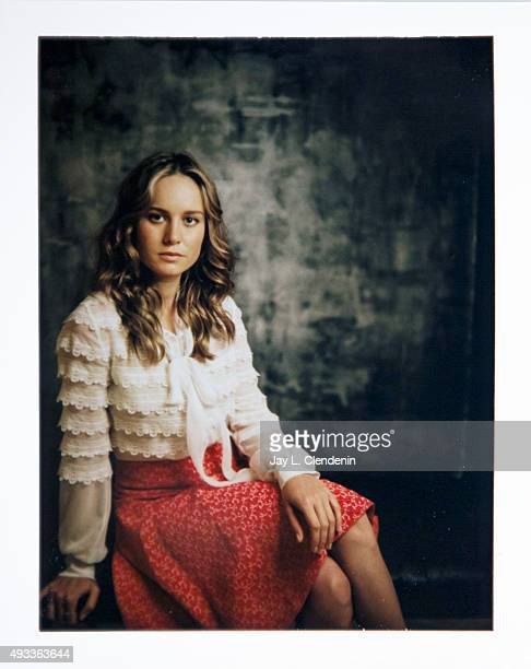 Actress Brie Larson of the film 'Room' is photographed on polaroid film for Los Angeles Times on September 25 2015 in Toronto Ontario PUBLISHED IMAGE...