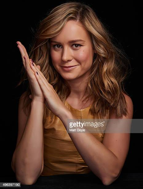 Actress Brie Larson photographed for Back Stage on September 17 in New York City