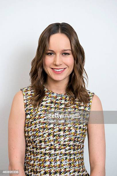 Actress Brie Larson poses for a portrait at 'The Gambler' press junket on December 14 2014 in New York City