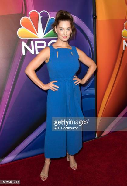 Actress Briga Heelan attends NBC TCA Summer Press Tour 2017 on August 3 in Beverly Hills California / AFP PHOTO / VALERIE MACON