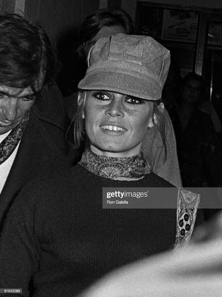 Actress Brigitte Bardot sighted on September 9, 1968 at Zoom Zoom Nightclub in St. Tropez, France.