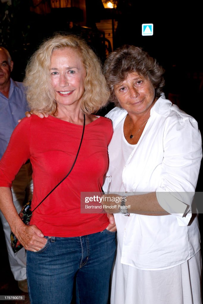 Actress <a gi-track='captionPersonalityLinkClicked' href=/galleries/search?phrase=Brigitte+Fossey&family=editorial&specificpeople=587171 ng-click='$event.stopPropagation()'>Brigitte Fossey</a> and President of Ramatuelle Festival Jacqueline Franjou attend Concert of Juliette Greco at 29th Ramatuelle Festival : Day 8 on August 7, 2013 in Ramatuelle, France.