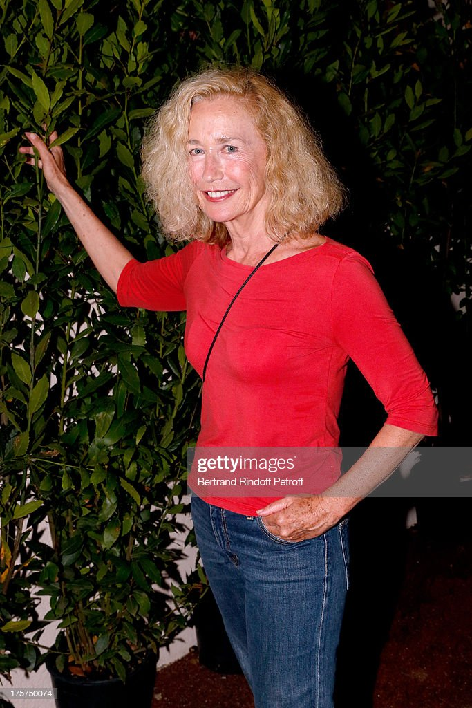 Actress Brigitte Fossey attends Concert of Juliette Greco at 29th Ramatuelle Festival : Day 8 on August 7, 2013 in Ramatuelle, France.