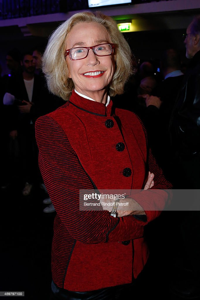 Actress Brigitte Fossey attends Maison Jean Paul Gaultier Hosts 'Le Projet ICCARRE Association' Against AIDS at 325 Rue Saint Martin on December 1...