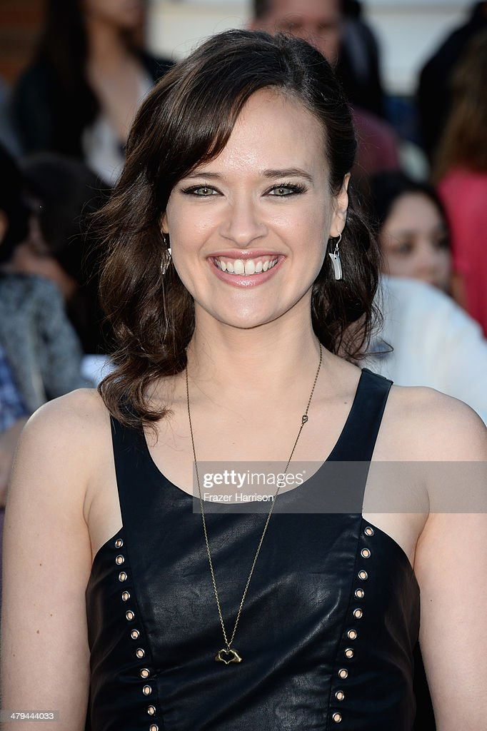 Actress Brina Palencia arrives at the premiere of Summit Entertainment's 'Divergent' at the Regency Bruin Theatre on March 18, 2014 in Los Angeles, California.