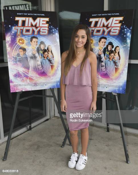 Actress Brisa Lalich attends premiere of 'Time Toys' at Laemmle NoHo 7 on March 4 2017 in North Hollywood California