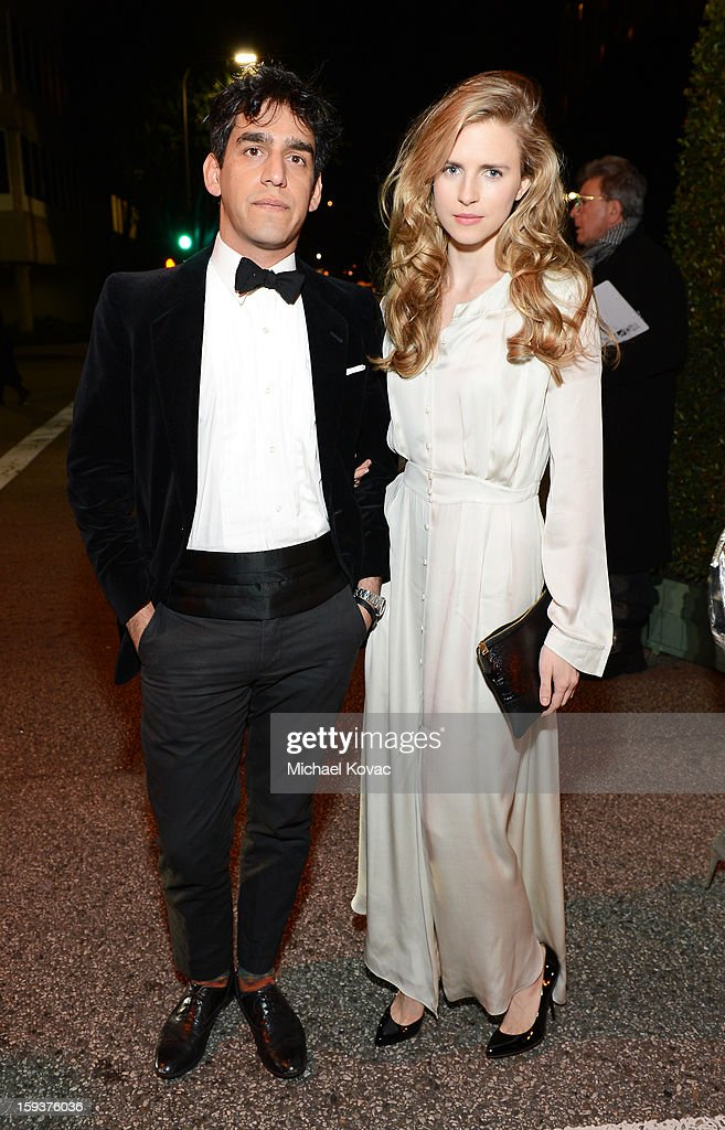 Actress Brit Marling (R) and director Zal Batmanglij attend The Art of Elysium's 6th Annual HEAVEN Gala presented by Audi at 2nd Street Tunnel on January 12, 2013 in Los Angeles, California.